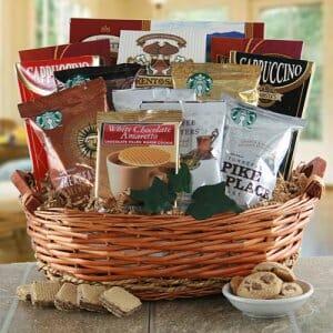 Coffee and Tea Gift Basket & Coffee u0026 Tea Basket - Fast Gifts