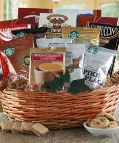 Coffee and Tea Gift Basket