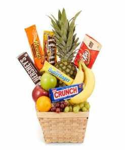 Fruit Chocolate Gift Basket