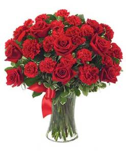 Valentines Day Flower Bouquet