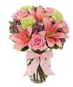 Delightfully Fresh Flower Bouquet