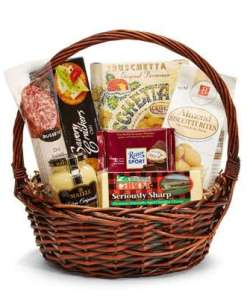 Delightfully Gourmet Birthday Gift Basket