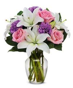Perfect In Pastel Flower Bouquet