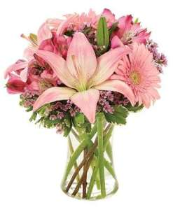 Pink Charm Flower Bouquet