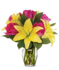Rose Lily Lemonade Bouquet