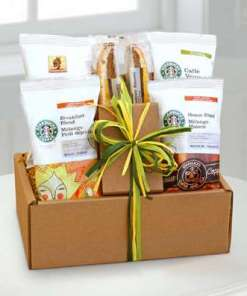 Starbucks Sampler Birthday Basket