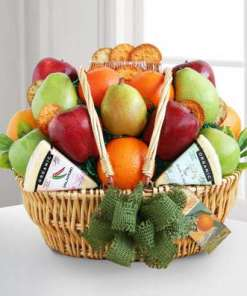 California Dreaming Fruit & Cheese Gift Basket 99.99