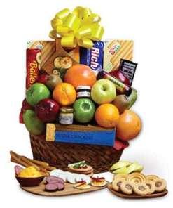 Orchard Fresh Fruit and Snacks Gift Basket 54.99