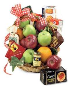 Fruit & Gourmet Gift Basket 59.99
