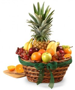 Elegant Classics Fruit Gift Basket Same Day Delivery