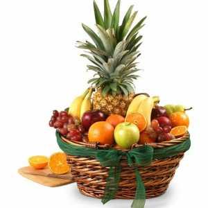 Elegant Classics Fruit Gift Basket Same Day Delivery