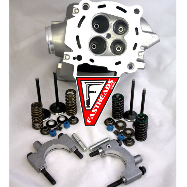 New Honda CRF250 Cylinder Head with Kibblewhite Black Diamond Stainless Steel Valves