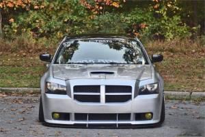 APR Carbon Fiber Front Wind Splitter w Rods: Dodge Magnum SRT8 2006  2008