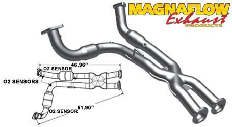 magnaflow catalytic converter jeep grand cherokee srt8 2006 2010