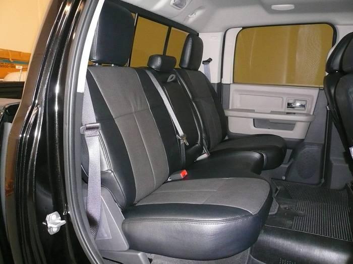 Clazzio Leather Seat Covers Dodge Ram 2500 3500 2009