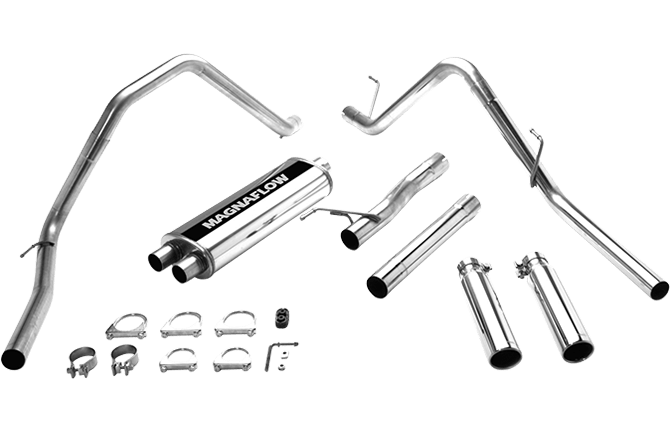 Magnaflow Dual Exhaust System: Dodge Ram 5.7L Hemi 2003 Models