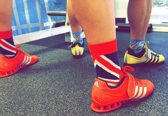 Sock Game Weight Training