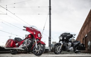 Indian Motorcycle 2017 Chieftain Limited and Chieftain Elite