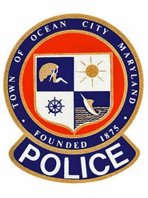 OC MD Police Patch