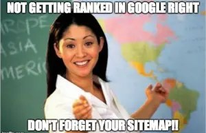 Don't forget your sitemap!