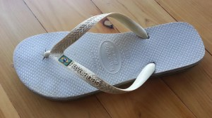 Havianas Thongs, Jandals or Flipflops.
