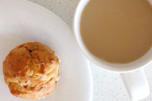 Tea and a good muffin!