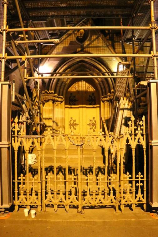 Scaffolding Door
