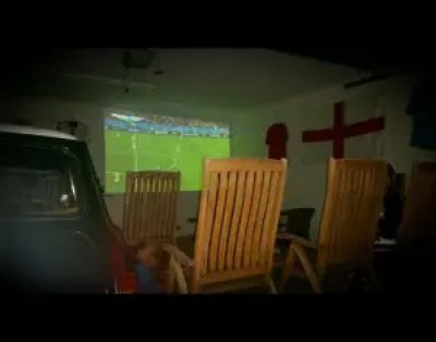 The England Shrine! They played like they were dead...