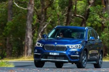 BMW X1 Action Shot
