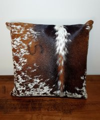 cowhide pillow cover | bedding pillow | living room decor ...