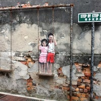 swing chair penang design in bangladesh street art brother and sister on a 6 tips from 519 photo taken at by michael c