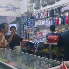 Toko Baja Ringan Bandar Lampung Kota Soccer Corner Jl Diponegoro Ruko No 3