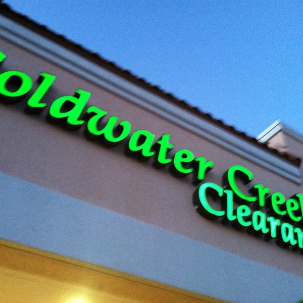 Coldwater Creek Outlet Stores Locations