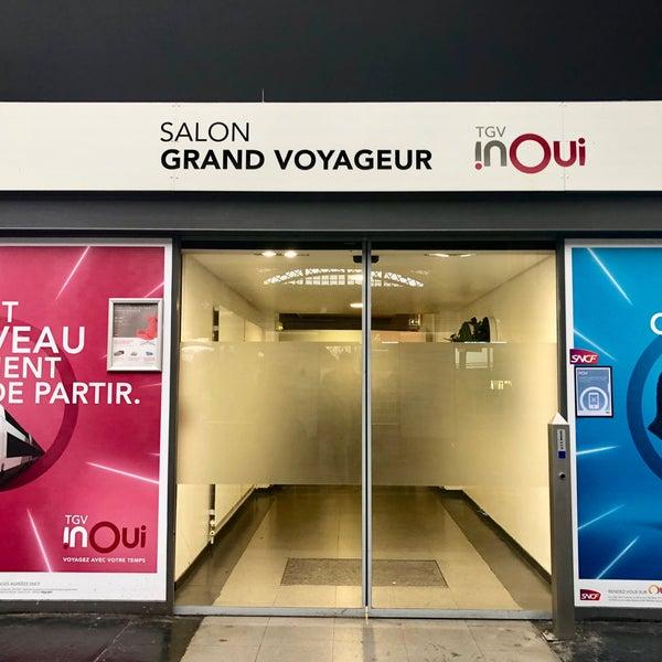 Salon Grand Voyageur TGV inOUI  Paris ledeFrance