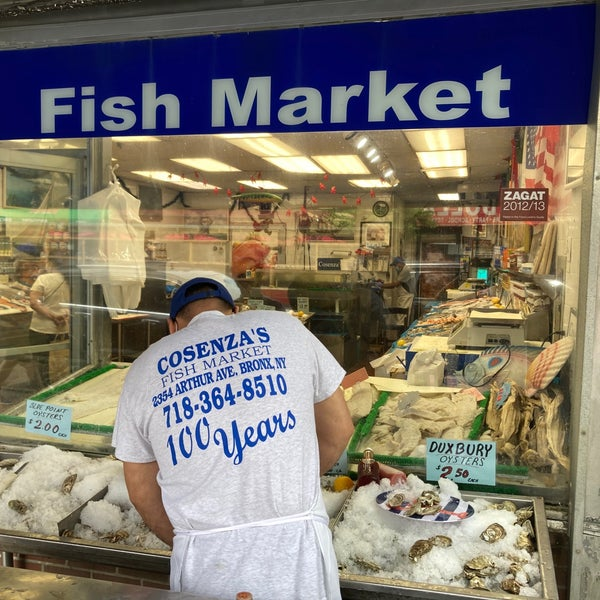 Get directions, phone number, address, latest reviews, photos, map of new york meat & fish market corp in ny ,bronx on justdial us. Cosenza S Fish Market Belmont 9 Tips