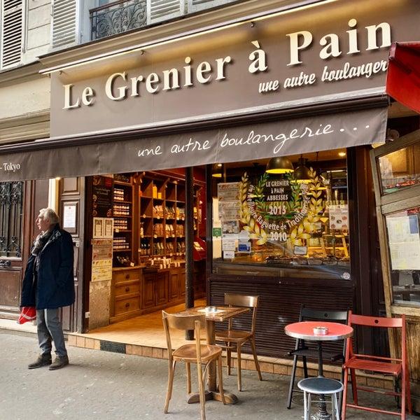 le grenier a pain backerei in paris