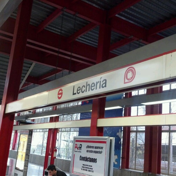 Tren Suburbano Lecheria - Estación de tren en Tultitlán