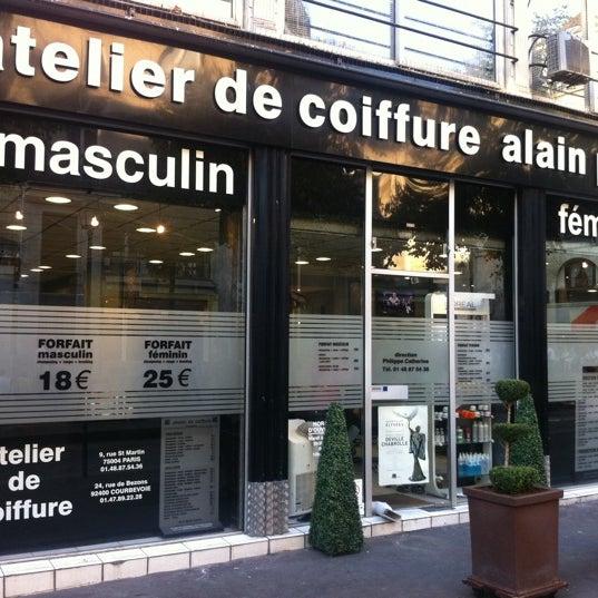 atelier de coiffure alain pages