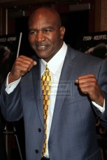 EVANDER HOLYFIELD at screening of Boxing Documentary ''Champs'' at Village East Cinema 3-12-2015 John Barrett/Globe Photos 2015