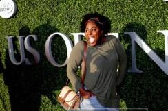 DANIELLE BROOKS''Orange is the new Black'' Celebs at US Open Tennis Day 7 at Arthur Ashe Stadium 9-6-2015 John Barrett/Globe Photos 2015