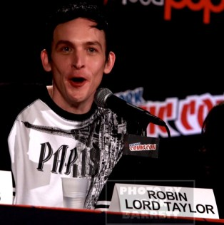 ROBIN LORD TAYLOR attends the'' GOTHAM'' panel at day 4 of NY Comic Con at Javits center 10-11-2015 John Barrett/Globe Photos 2015