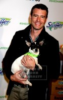 SCOTT FOLEY joins Swiffer and BarkBox TO Promote Pet Adoption this Holiday S Season at 101 Wooster St 11-12-2015 John Barrett/Globe Photos 2015