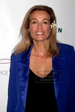 FREDERIQUE Van der Wal Frederique launches her life style and Flower Brand at Gallow green rooftop 9-29-2015