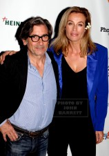 FREDERIQUE Van der Wal,GRIFFIN DUNNE Frederique launches her life style and Flower Brand at Gallow green rooftop 9-29-2015