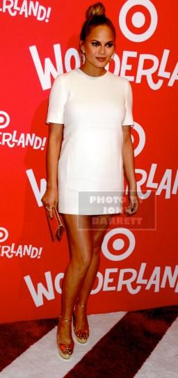 CHRISSY TEIGEN Target host a event to kick off Target Wonderland at 70 10th ave 12-7-2015 John Barrett/Globe 2015