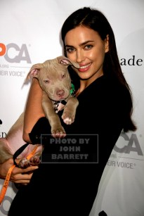 ,IRINA SHAYK at ASPCA young friends Benefit at IAC Building 555 W.18st 10-15-2015 John Barrett/Globe Photos 2015