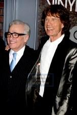 MICK JAGGER,,MARTIN SCORSESE at HBO premiere of ''VINYL'' at Ziegfeld Theatre 1-15-2016 John Barrett/Globe Photos 2016