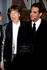 BOBBY CANNAVALE,,MICK JAGGER,, at HBO premiere of ''VINYL'' at Ziegfeld Theatre 1-15-2016 John Barrett/Globe Photos 2016