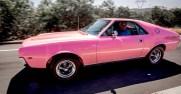 Angela Dorian's Playboy Playmate Pink 1968 AMX