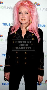 CYNDI LAUPER Cyndi Lauper's True Colors fund host its 5th annual ''Home for the Holidays'' concert at the Beacon Theatre 12-5-2015 John Barrett/Globe 2015
